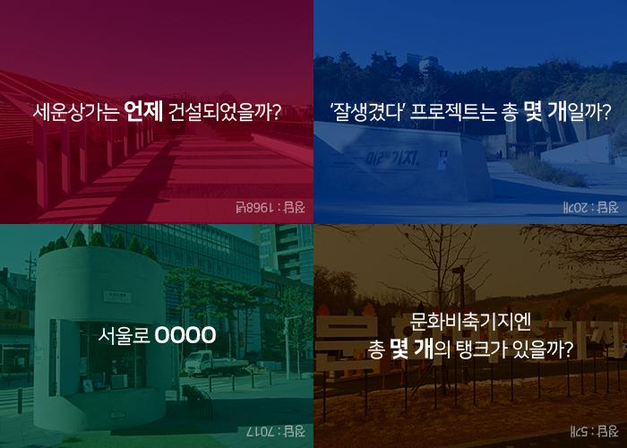 잘생겼다 서울20 퀴즈