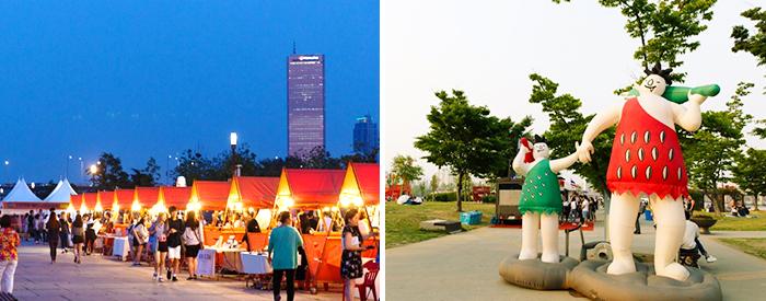 서울밤도깨비야시장(여의도)
