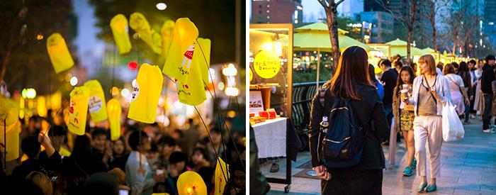 서울밤도깨비야시장(청계천)