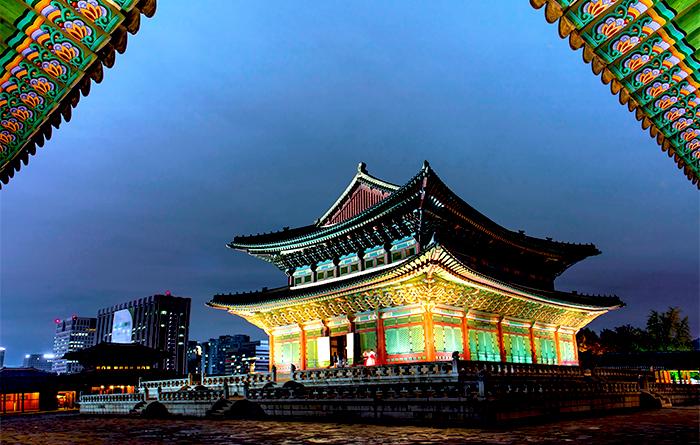 夏の夜の宮_星が輝く夜_in_キョンボックン_景福宮