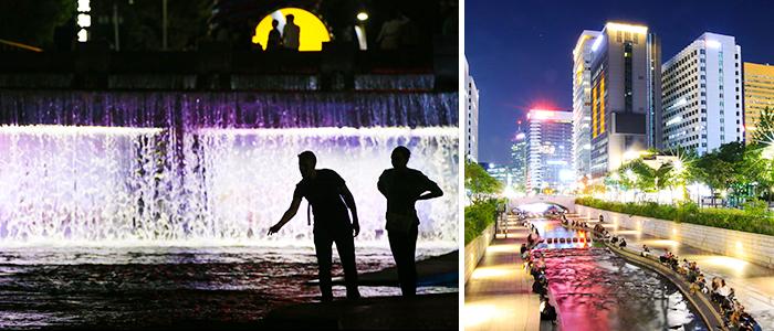 Cheonggyecheon Berlin Wall