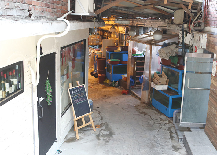 해방촌 오거리-신흥시장