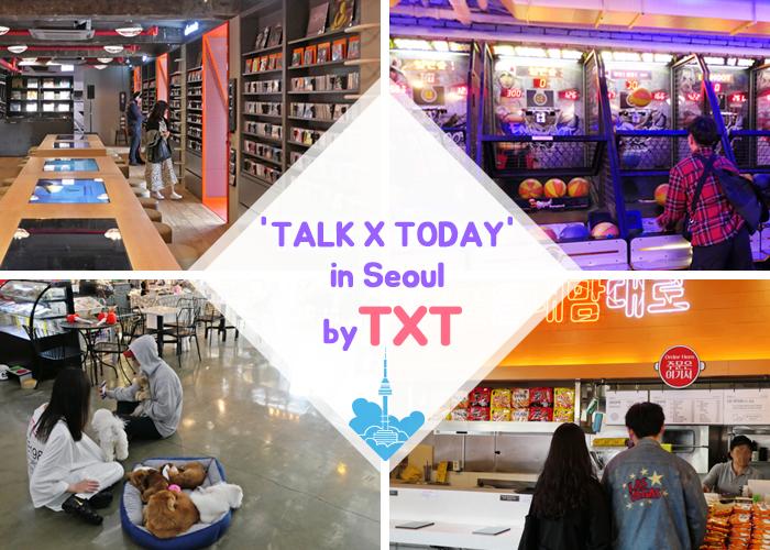 'TALK X TODAY' in Seoul by TXT