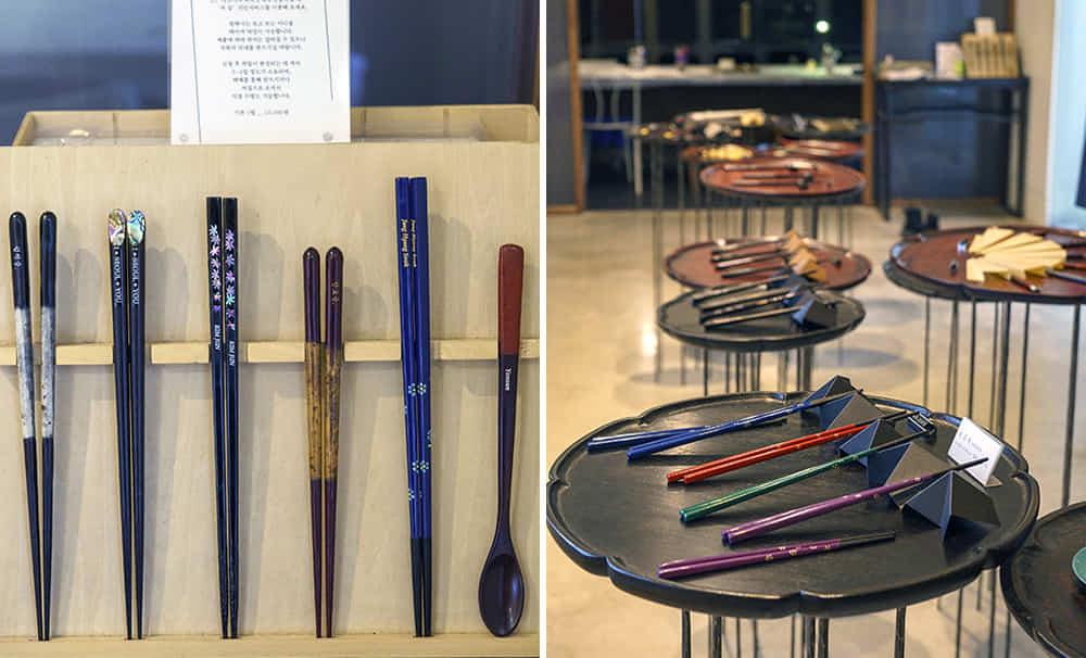 Jeojip Galeri chopstick pertama di Korea