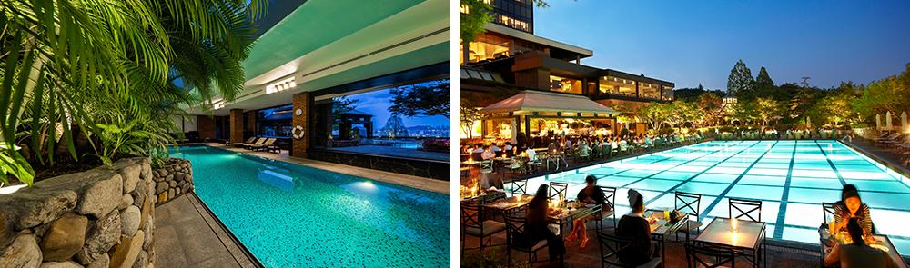 Фото бассейна в отеле Grand Hyatt Seoul
