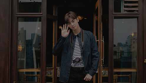 Going Retro with Cha Eun Woo