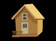 나무 집 아이콘