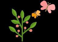 폴과 나비 아이콘
