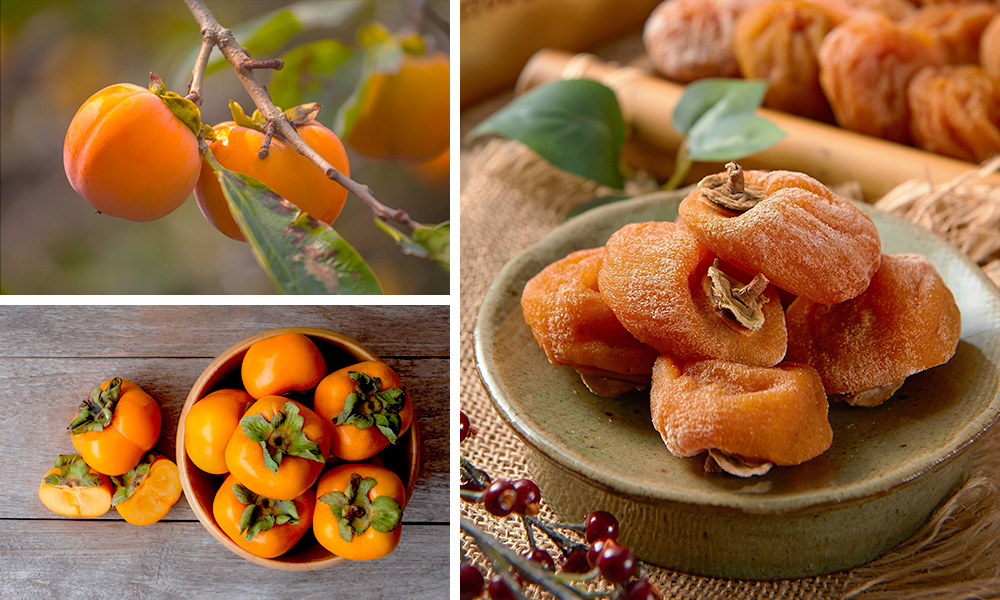 Persimmon and Ripened Persimmon