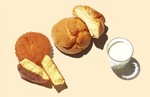 추억의 전통빵 사진