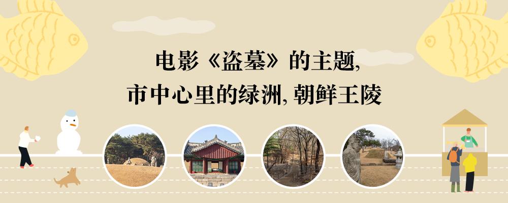 电影《盗墓》的主题,市中心里的绿洲,朝鲜王陵