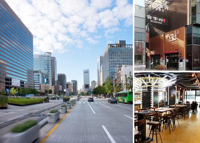 종로&광화문 일대의 모습