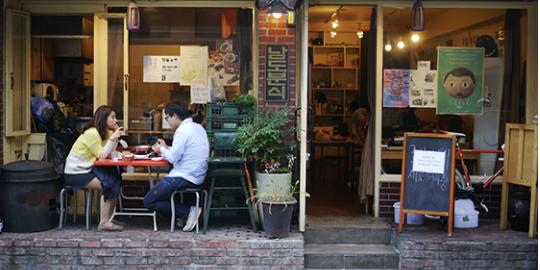 서촌 카페 사진