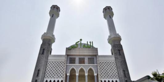 이슬람 중앙성원 사진