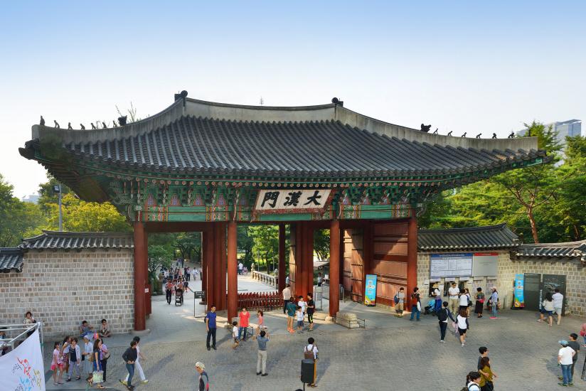 Deoksugung Palace Daehanmun Gate